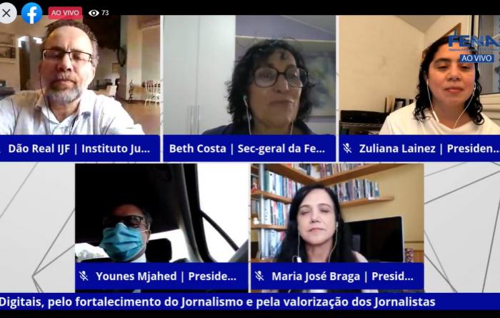 Fenaj defende criação de fundo público de fomento ao jornalismo profissional com taxação das grandes plataformas digitais
