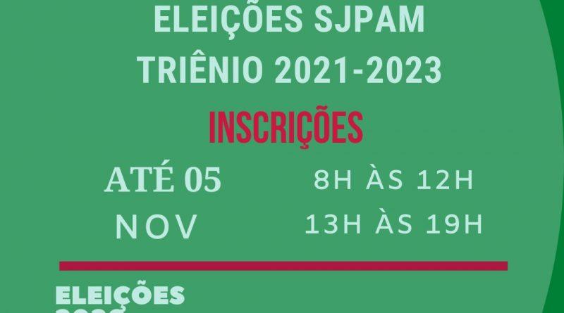 Abertas inscrições para gestão do SJPAM triênio 2021-2023