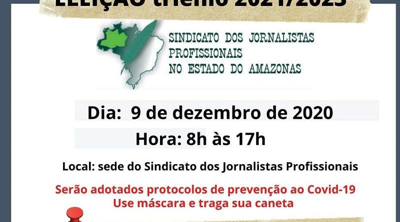 ELEIÇÕES SJP/AM GESTÃO 2021/2023
