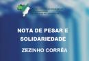 NOTA DE PESAR E SOLIDARIEDADE