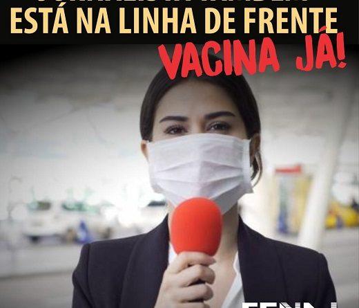 FENAJ na luta pela saúde e vida dos jornalistas