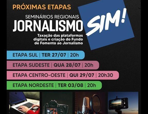 📣📣 BOLETIM DA FENAJ Federação Nacional dos Jornalistas – 18 a 23/07/21