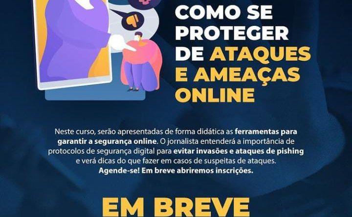 FENAJ realizará curso sobre como se proteger de ataques e ameaças no ambiente digital
