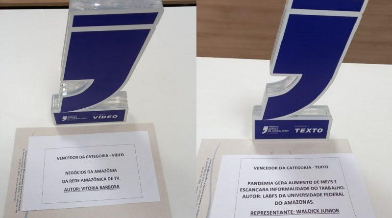 Rede Amazônica e Universidade Federal do Amazonas vencem Prêmio Sebrae de Jornalismo, 8ª edição